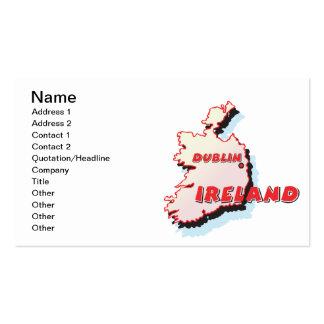 Dublin Ireland Business Card Templates