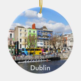 Dublin. Ireland Ceramic Ornament