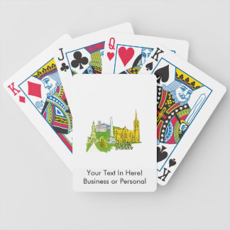 dublin ireland city graphic.png bicycle playing cards