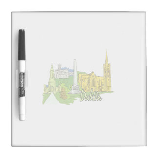 dublin ireland city graphic.png Dry-Erase board