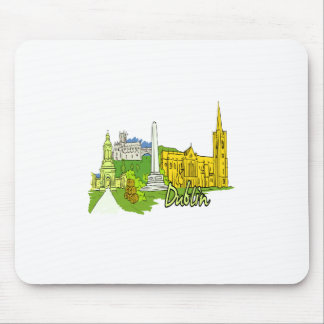 dublin ireland city graphic.png mouse pad