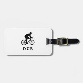 Dublin Ireland Cycling DUB Bag Tag