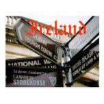 Dublin Ireland Eire siteseeing postcard