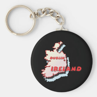 Dublin Ireland Keychain