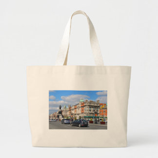 Dublin. Ireland Large Tote Bag