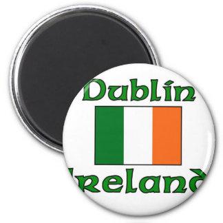 Dublin, Ireland Refrigerator Magnet