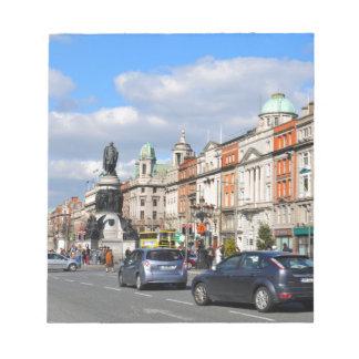 Dublin. Ireland Notepad
