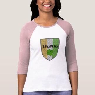 Dublin Ireland Womens Raglan Vintage T-Shirt