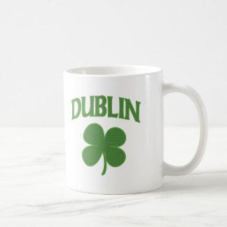Dublin Irish Shamrock Coffee Mug