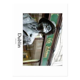 Dublin, Irlanda, Café Kylemore, James Joyce Statue Postales