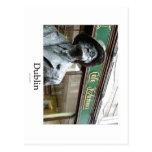Dublin, Irlanda, Café Kylemore, James Joyce Statue Tarjeta Postal