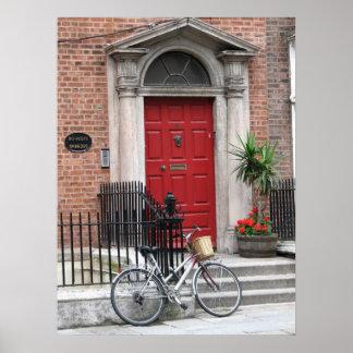 Dublín, Irlanda Póster