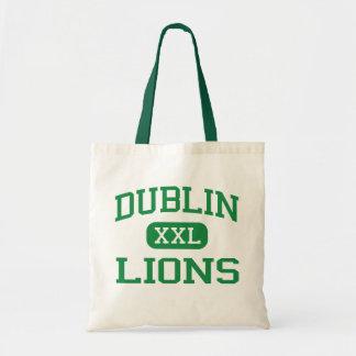 Dublin - Lions - Dublin High School - Dublin Texas Canvas Bag