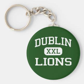 Dublin - Lions - Dublin High School - Dublin Texas Keychains