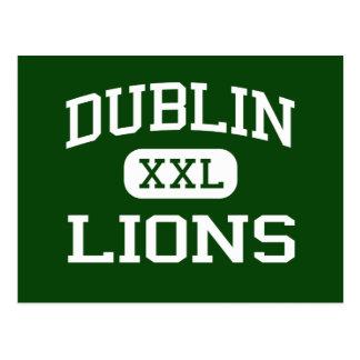 Dublin - Lions - Dublin High School - Dublin Texas Post Cards