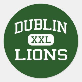 Dublin - Lions - Dublin High School - Dublin Texas Stickers