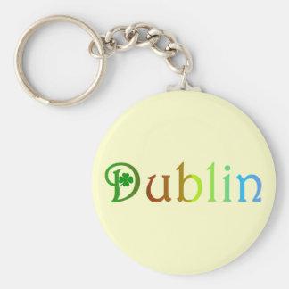Dublín Llavero Personalizado