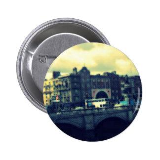 Dublin Pop Art Pinback Buttons