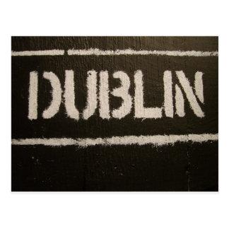 Dublin Postcard