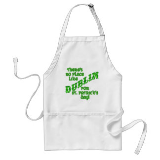 DUBLIN St Patricks Day Adult Apron