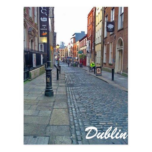 Dublin Street Post Card