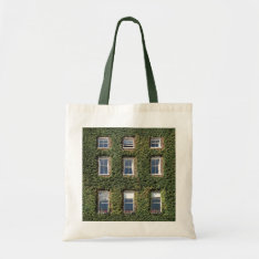 Dublin Town House Climbing Ivy Crafts & Shopping Tote Bag at Zazzle