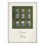 Dublin Town House Climbing Ivy Dinner Party Event Card at Zazzle