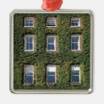 Dublin Town House Ivy Birthday Christmas Metal Ornament at Zazzle