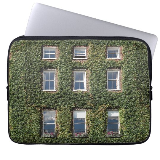 Dublin Town House Windows And Ivy Laptop Sleeve