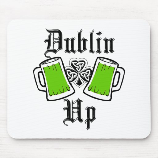 DUBLIN UP MOUSE PAD