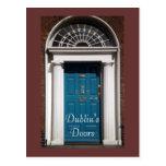 Dublin's Doors postcard