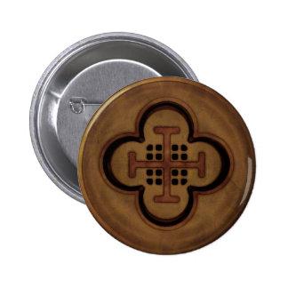 Dubloon Pinback Button