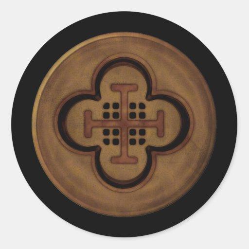 Dubloon Round Sticker