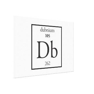 Dubnium Canvas Print