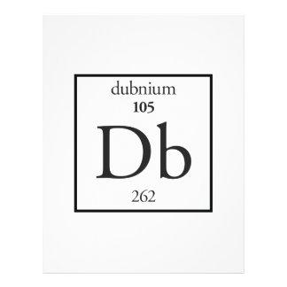 Dubnium Flyer Design