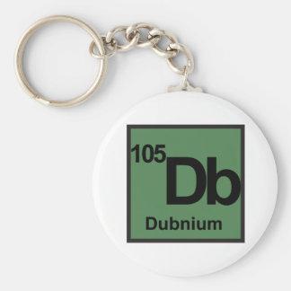 Dubnium Keychain