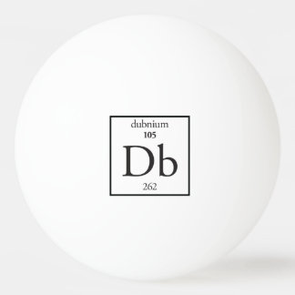 Dubnium Ping-Pong Ball