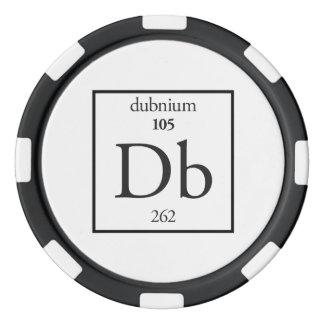 Dubnium Poker Chips