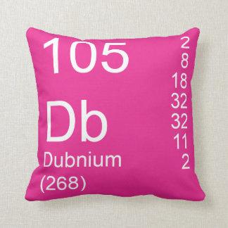 Dubnium Throw Pillow