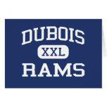 Dubois - espolones - High School secundaria - Dubo Tarjetas