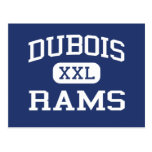 Dubois - espolones - High School secundaria - Postal