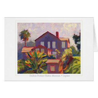 DuBois Museum note card