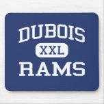 Dubois Rams Elementary Dubois Wyoming Mouse Pad