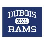 Dubois Rams Elementary Dubois Wyoming Post Cards