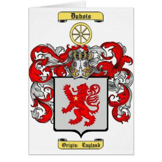Dubois Tarjeta De Felicitación