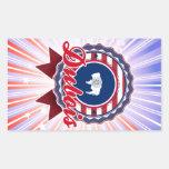 Dubois, WY Rectangle Sticker