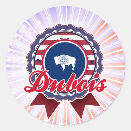 Dubois, WY Sticker