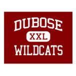 DuBose - Wildcats - Middle - Summerville Post Card