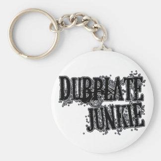 Dubplate Junkie Vinyl collector Dubstep DJ Basic Round Button Keychain