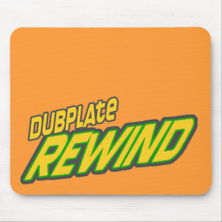Dubplate Rewind Dub Mouse Pads